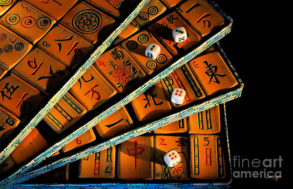 Photograph - Mad For Mahjong by Lois Bryan