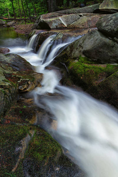 Photograph - Mad River Flume by Jeff Sinon