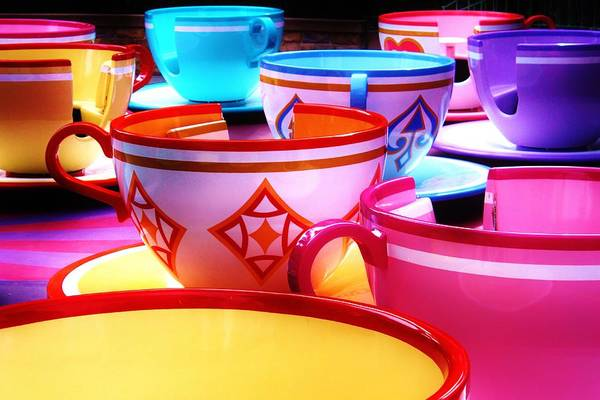 Disney World Photograph - Mad Tea Party by Benjamin Yeager