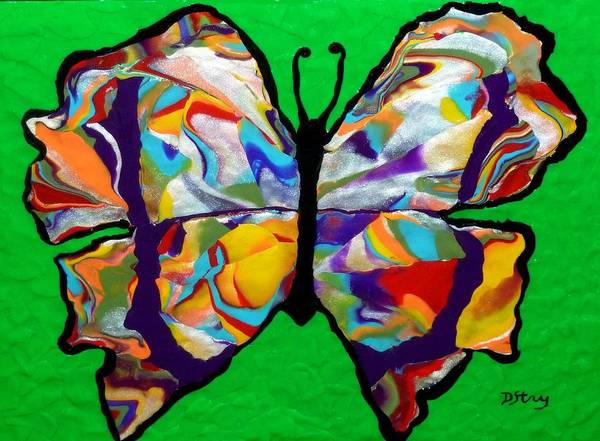 Mixed Media - Madam Butterfly by Deborah Stanley