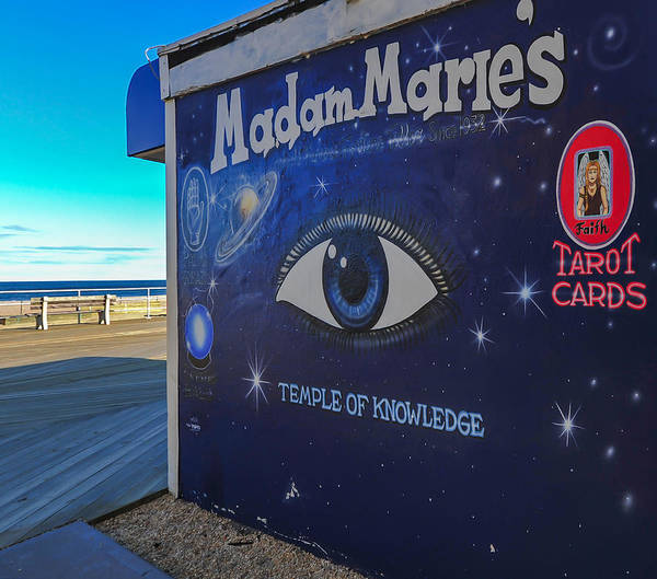 Palm Reading Wall Art - Photograph - Madam Marie's Asbury Park New Jersey by Terry DeLuco