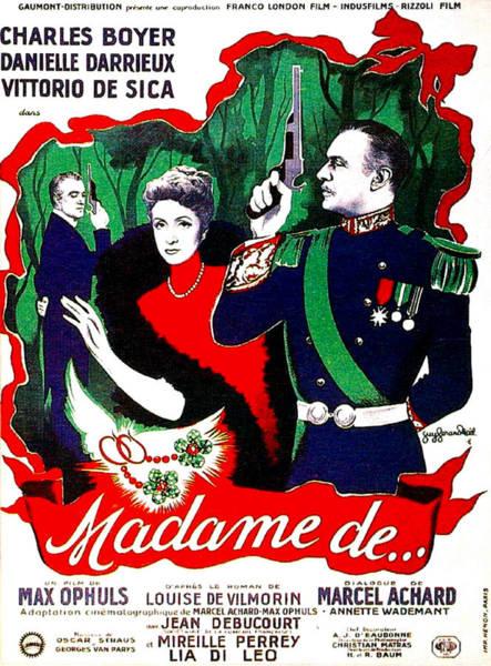Wall Art - Photograph - Madame De..., Aka The Earrings Of by Everett