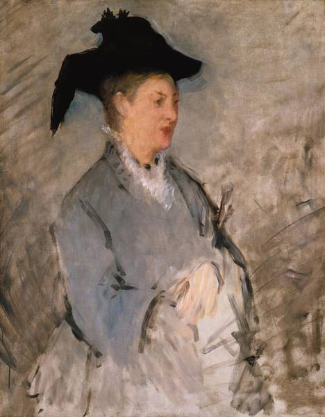 Wall Art - Painting - Madame Edouard Manet by Edouard Manet