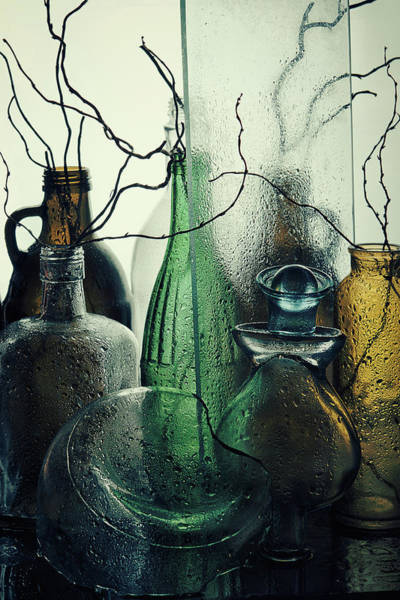 Bottles Photograph - Madame by Golubeva Nataly