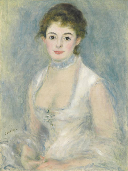 Wall Art - Painting - Madame Henriot by Pierre Auguste Renoir