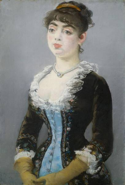 Wall Art - Painting - Madame Michel-levy by Edouard Manet