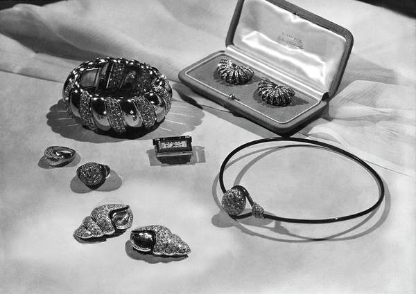 Schiaparelli Photograph - Madame Schiaparelli's Jewellery by Horst P. Horst