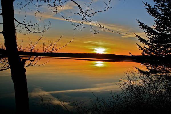 Madawaska Lake Photograph - Sunset At Madawaska Lake by Charles Cormier