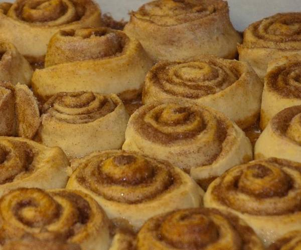 Cinnamon Buns Photograph - Made From Scratch by Bruce Carpenter