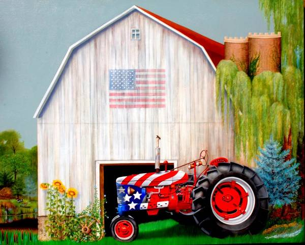 Painting - Made In America by William T Templeton