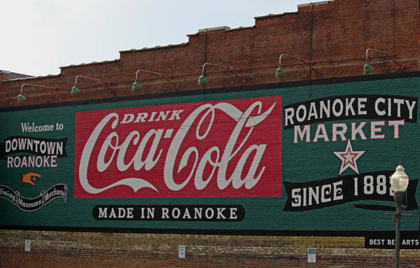 Wall Art - Photograph - Made In Roanoke by Suzanne Gaff