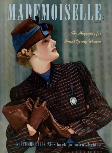 Mademoiselle Photograph - Mademoiselle Cover Featuring Bette Ribble by Paul D'Ome