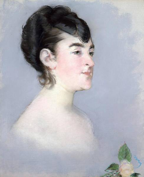Wall Art - Painting - Mademoiselle Isabelle Lemonnier by Edouard Manet