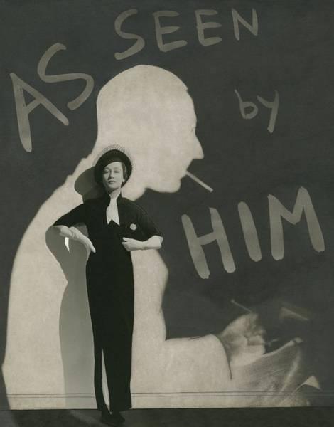 Wall Art - Photograph - Mademoiselle Koopman Wearing A John Mcmullin by George Hoyningen-Huene