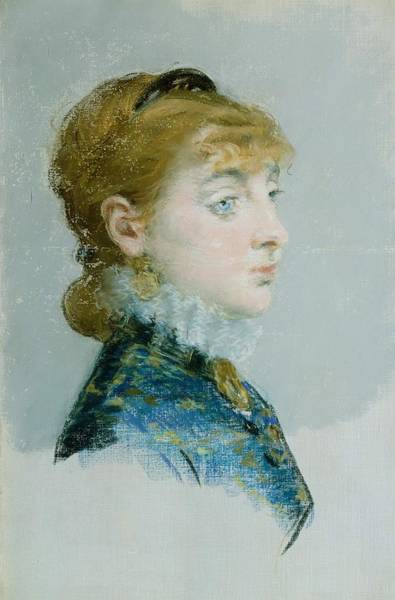 Wall Art - Painting - Mademoiselle Lucie Delabigne by Edouard Manet