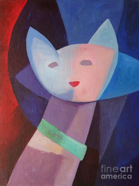 Painting - Mademoiselle by Lutz Baar
