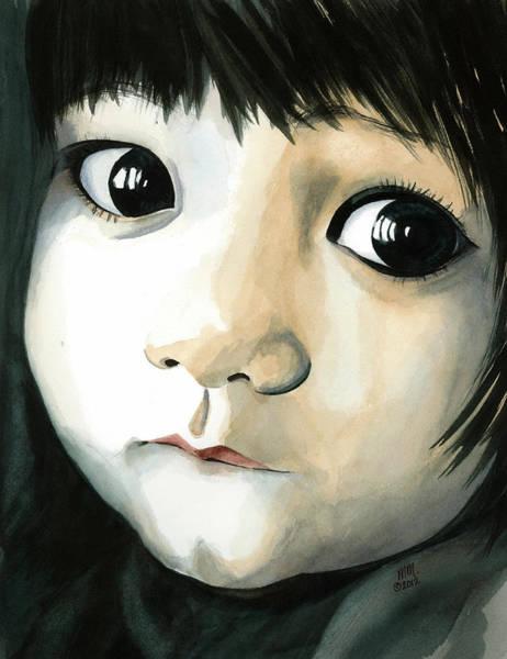 Madi's Eyes Art Print