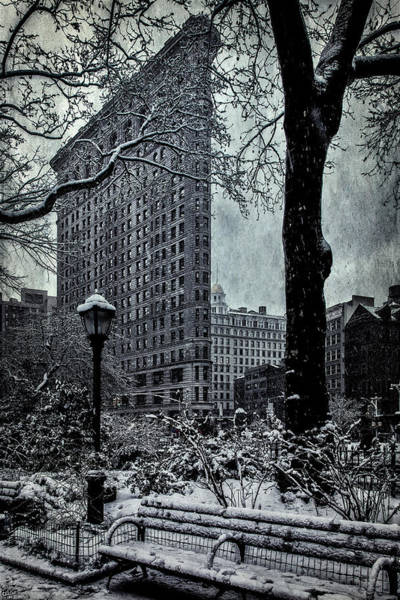 Photograph - Madison Square And The Flatiron Building by Chris Lord