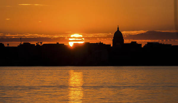 Madison Sunset Art Print