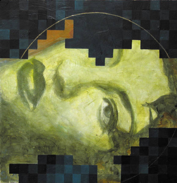Contemporary Painting - Madonna 1 by Sandra Cohen