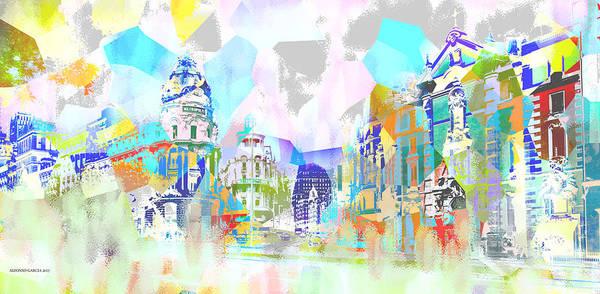 Madrid 1 Art Print
