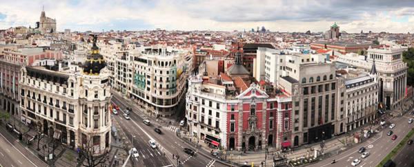 Break Up Photograph - Madrid Classic Cityscape by Nicolamargaret