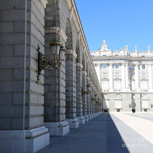 Photograph - Madrid Palace Courtyard by Carol Groenen