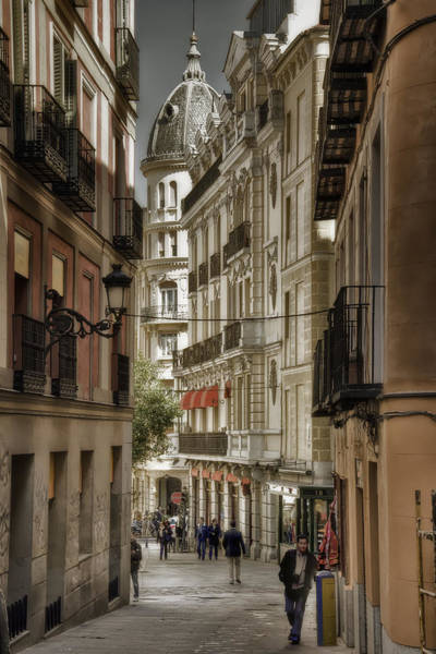 Madrid Streets Art Print