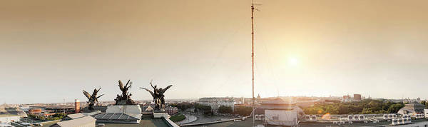 Symbol Photograph - Madrid View From Top Of Ministry Of by Luis Davilla