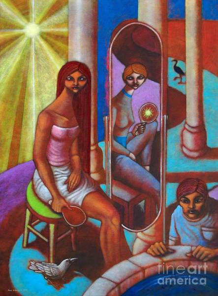 Changing Painting - Magbago Man Despite Change by Paul Hilario