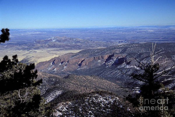 Photograph - Magdalena Mountains - Socorro - New Mexico by Steven Ralser