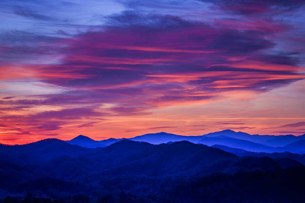 Magenta Photograph - Magenta Mountain Majesty by Mike Lang