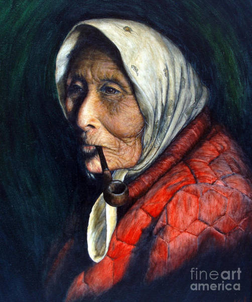 Tribal Woman Wall Art - Painting - Maggie by Joey Nash