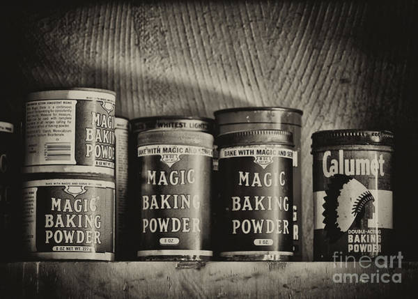 Photograph - Magic Baking Powder by Les Palenik