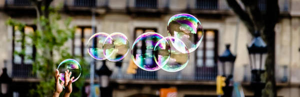 Photograph - Magic Bubbles by Sotiris Filippou