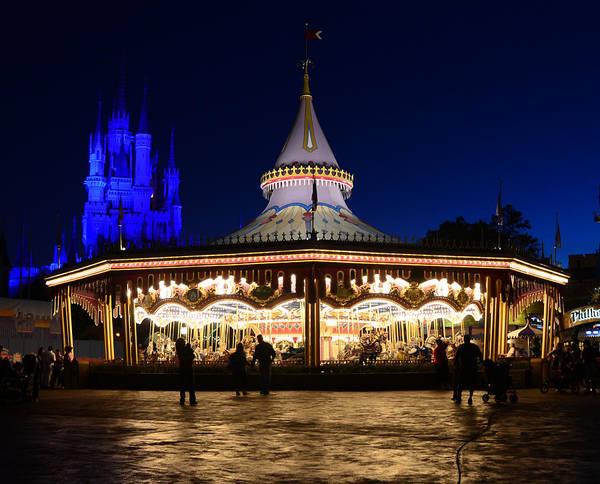 Prince Charming Wall Art - Photograph - Magic Carrousel by David Lee Thompson