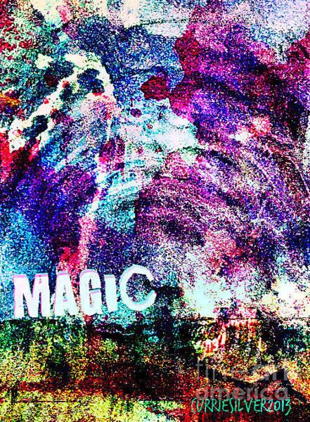 Wall Art - Digital Art - Magic by Currie Silver