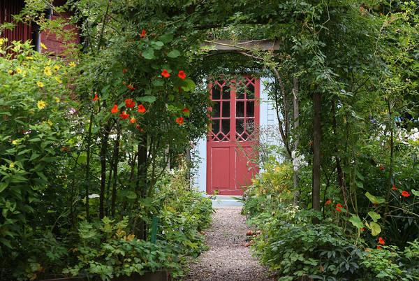 Photograph - Magic Garden Entrance by Dreamland Media