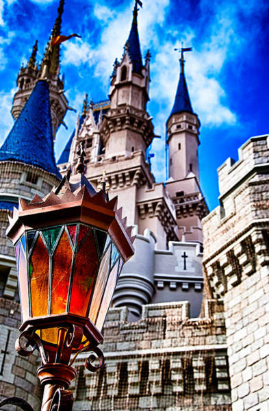 Photograph - Magic Kingdom Castle 002 by Michael  Bennett
