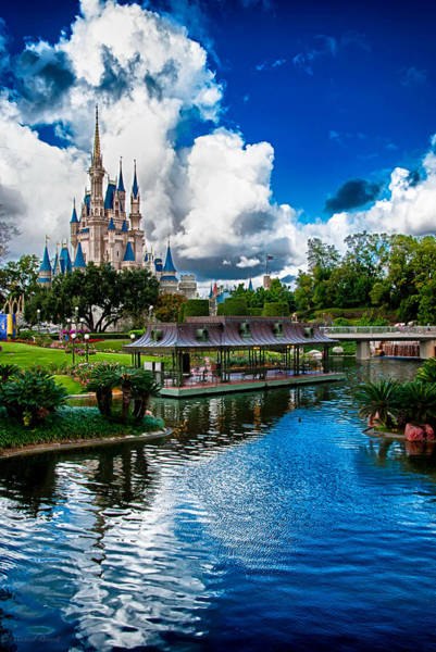 Photograph - Magic Kingdom Castle 003 by Michael  Bennett