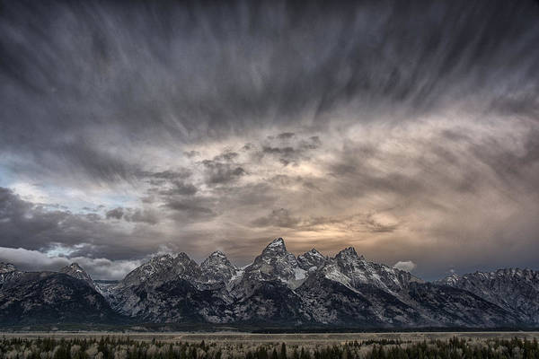Teton Photograph - Magic Mountain by Robert Fawcett