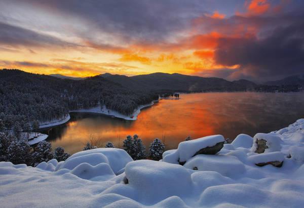 Wall Art - Photograph - Magic Sunset by Kadek Susanto