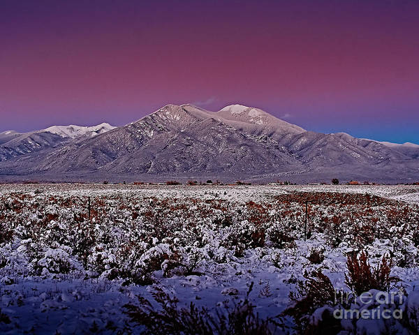 Photograph - Magic Taos Sunset V by Charles Muhle