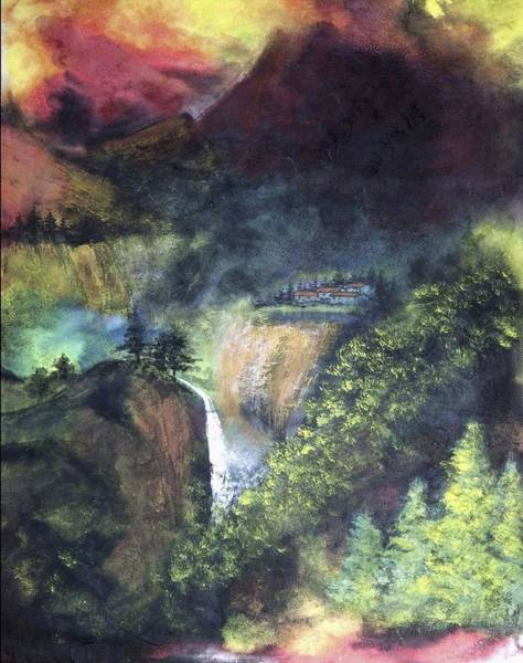 Ming Tree Painting - Magic Valley by Ming Franz