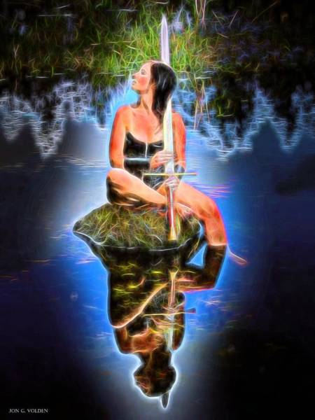 Painting - Magic Waters by Jon Volden