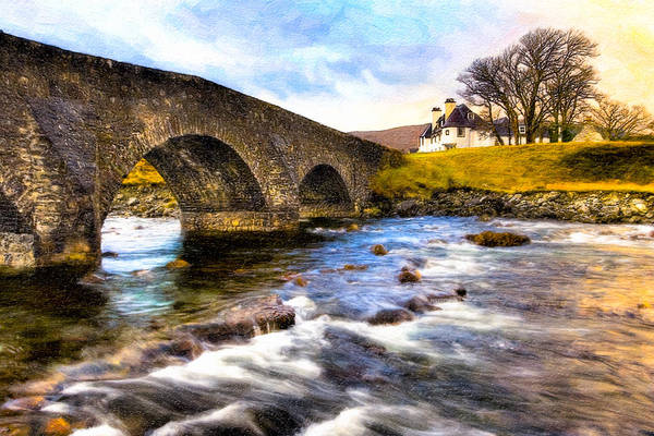 Photograph - Magic Waters On The Isle Of Skye by Mark Tisdale