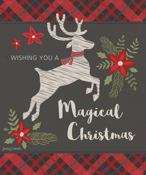 Holidays Painting - Magical Christmas by Jennifer L. Wambach