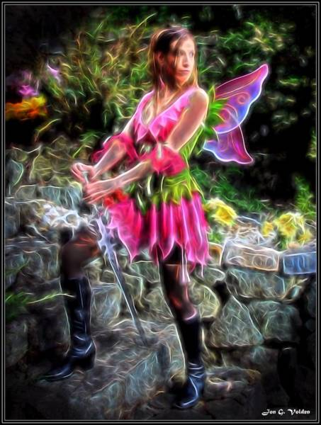 Painting - Magical Fairy by Jon Volden