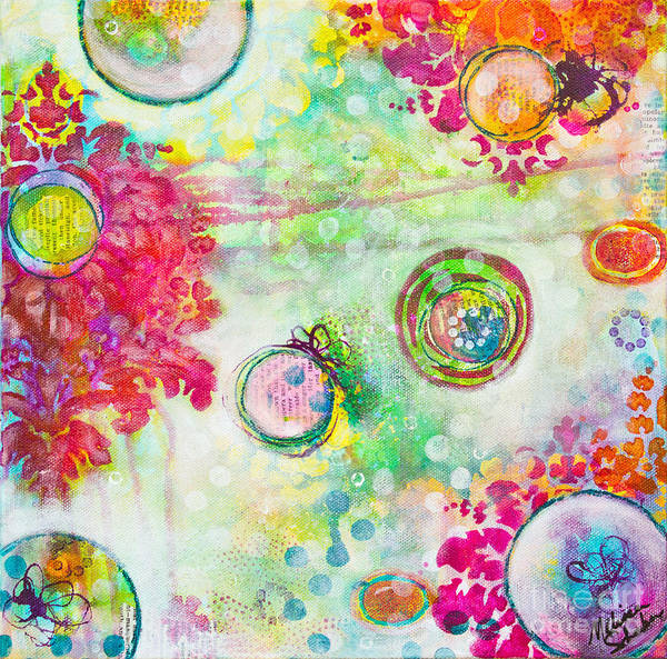 Mixed Media - Magical by Melissa Sherbon