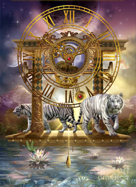 Myth Digital Art - Magical Moment In Time by MGL Meiklejohn Graphics Licensing